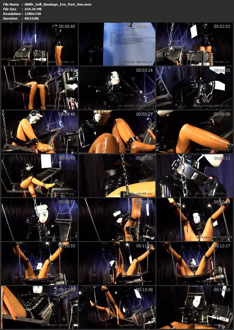 Self Bondage – Eve Part One. May 30 2012. Freaksinside.com (434 Mb)