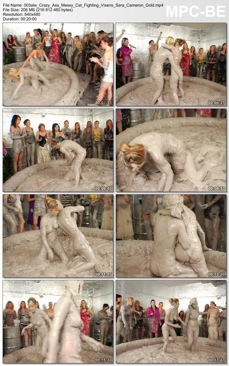 Crazy-Ass Messy Cat Fighting Vixens – Sara, Cameron Gold. 19.04.2007. AllWam.net (206 Mb)