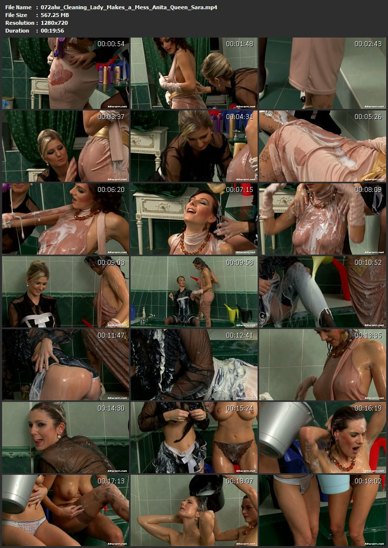 Cleaning Lady Makes a Mess – Anita Queen, Sara. 12.04.2010. AllWam.net (567 Mb)