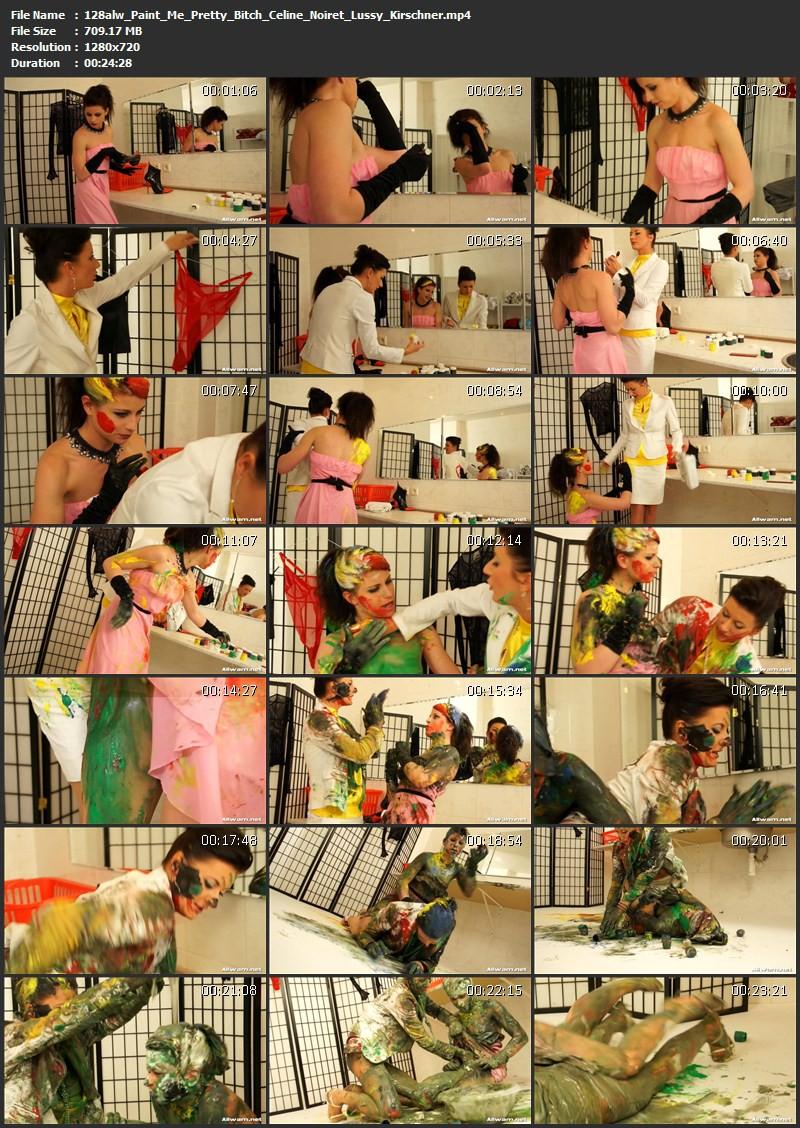 Paint Me Pretty, Bitch – Celine Noiret, Lussy Kirschner. 14.06.2012. AllWam.net (709 Mb)