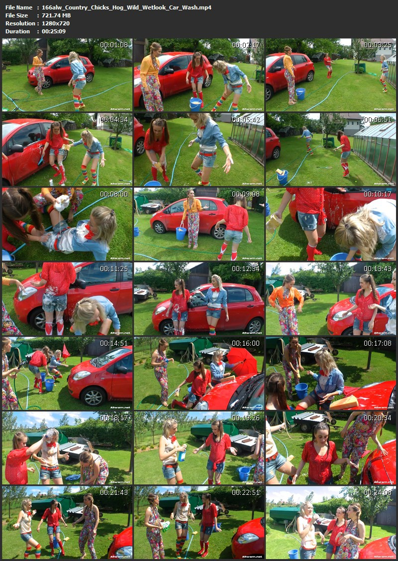 Country Chicks' Hog-Wild Wetlook Car Wash. 03.07.2014. AllWam.net (721 Mb)