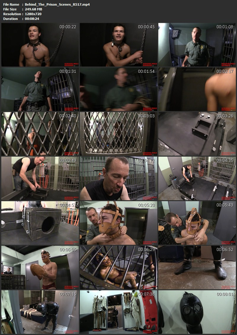 Odds And Ends – Another Great Escape, Behind The Prison Scenes, Odds And Ends (R517). Aug 05 2016. Seriousmalebondage.com (1014 Mb)