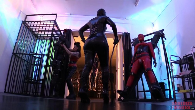 The Latex Duo – Miss Velour and Mistress Alexia (R638). Aug 02 2016. Seriousimages.com (1460 Mb)