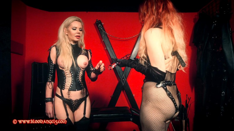 The Leather Room – Slutty Affection And Dirty Mary Part One (Clip448). Oct 17 2016. Bloodangels.com (681 Mb)