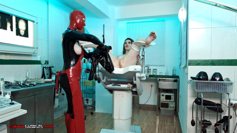 Treatment In Rubber – Miss Trixx And Lucia Love Part Four (Clip 288). Sep 06 2016. Clinicaltorments.com (710 Mb)
