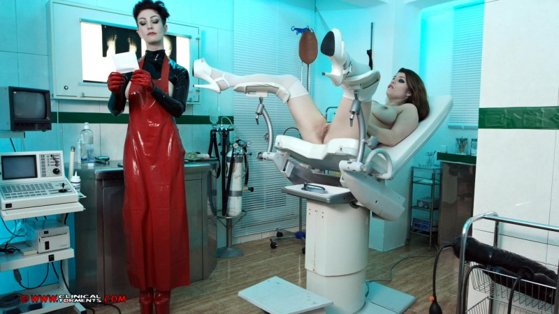 Treatment In Rubber – Miss Trixx And Lucia Love Part Three (Clip 281). Jul 19 2016. Clinicaltorments.com (636 Mb)