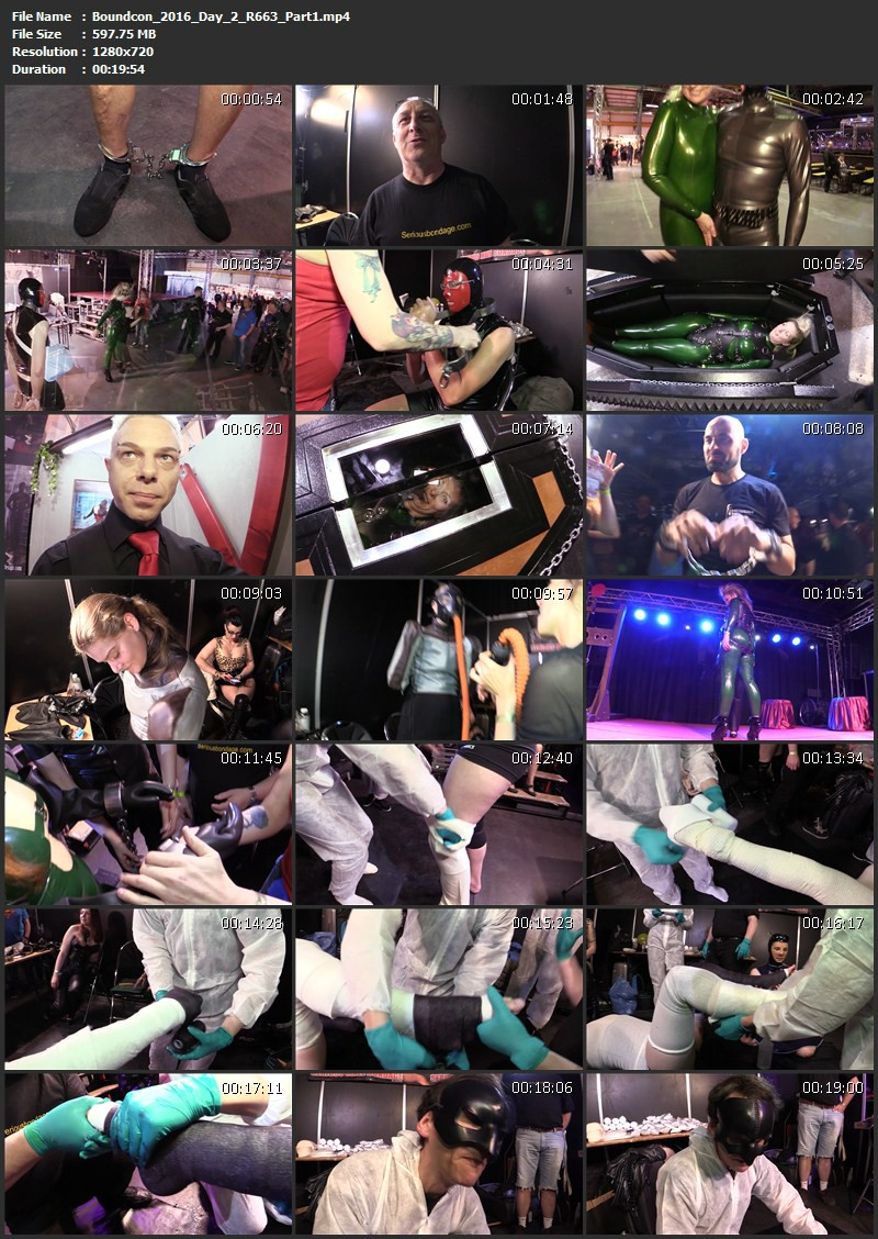 Boundcon Munich 2016 – Day 2 (R663). Nov 17 2016. Seriousimages.com (1778 Mb)
