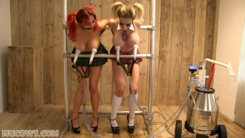 Jasmine James and Chessie Kay – schoolgirl HuCows (hu044). Oct 31 2015. HuCows.com (643 Mb)