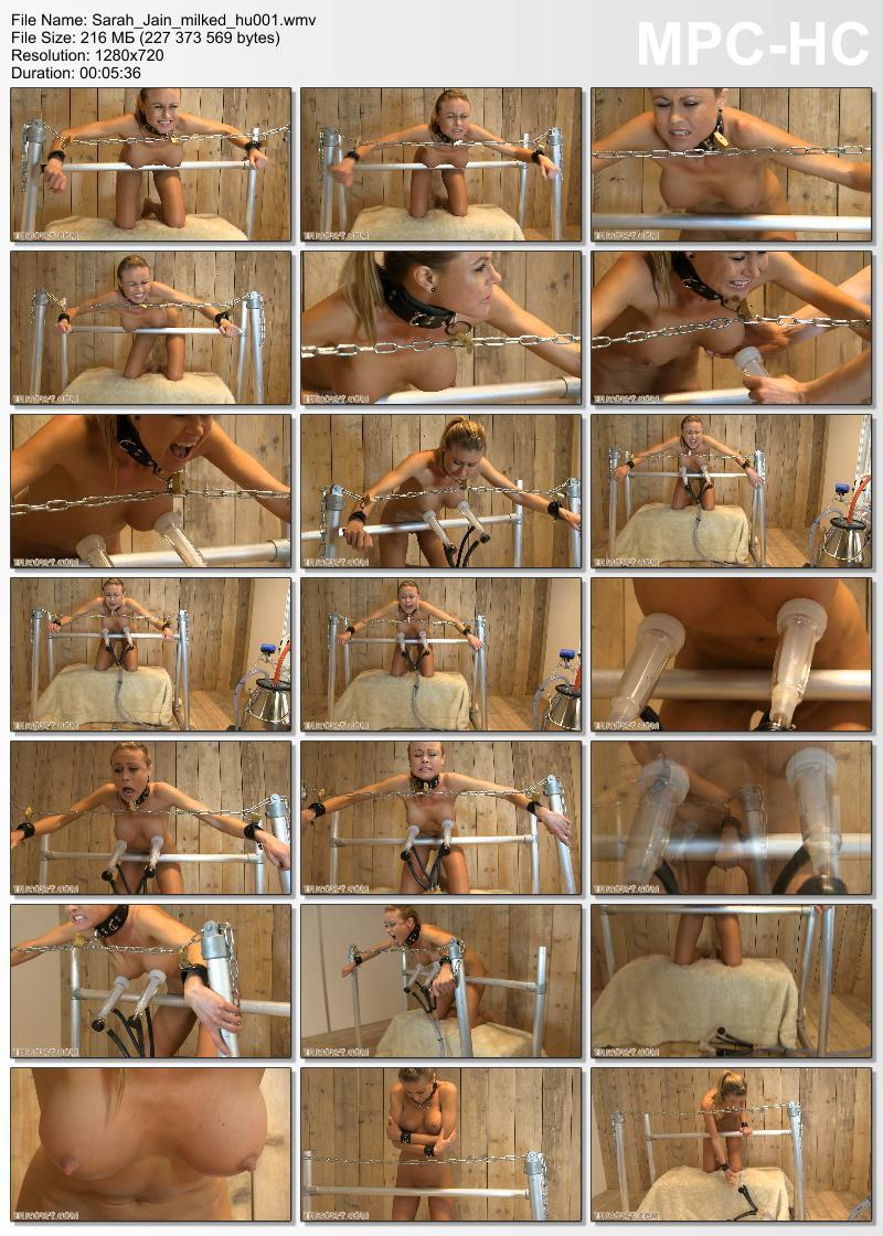 Sarah Jain milked (hu001). Jan 03 2015. HuCows.com (216 Mb)