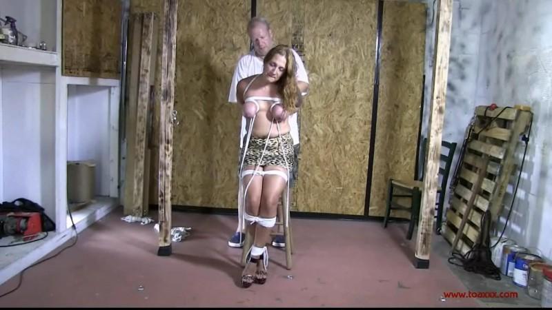 Hard Breast Bondage Predicament for Brenda Bound (TX159). Sep 02 2015. Toaxxx.com (367 Mb)