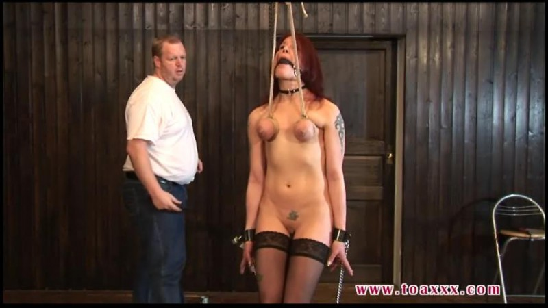 Hard Breast Predicament for sexy Melanie (TX230). May 11 2016. Toaxxx.com (197 Mb)