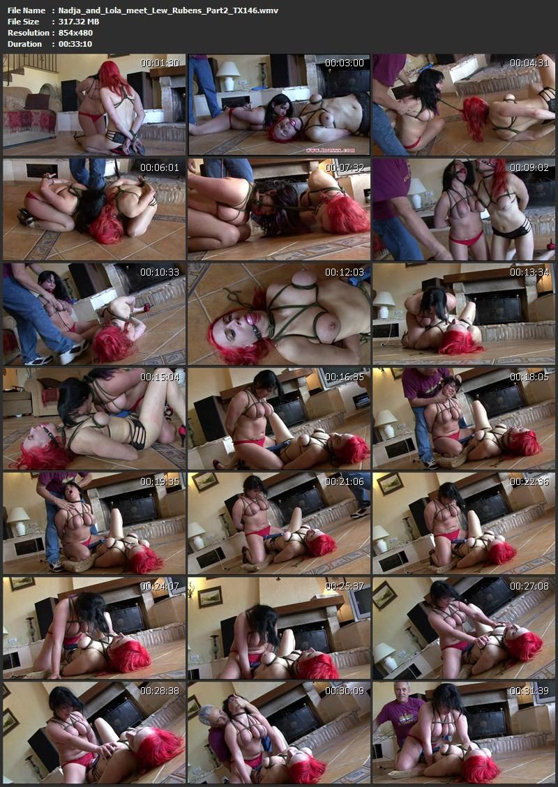 Nadja & Lola meet Lew Rubens – Part 2 (TX146). Jul 18 2015. Toaxxx.com (317 Mb)