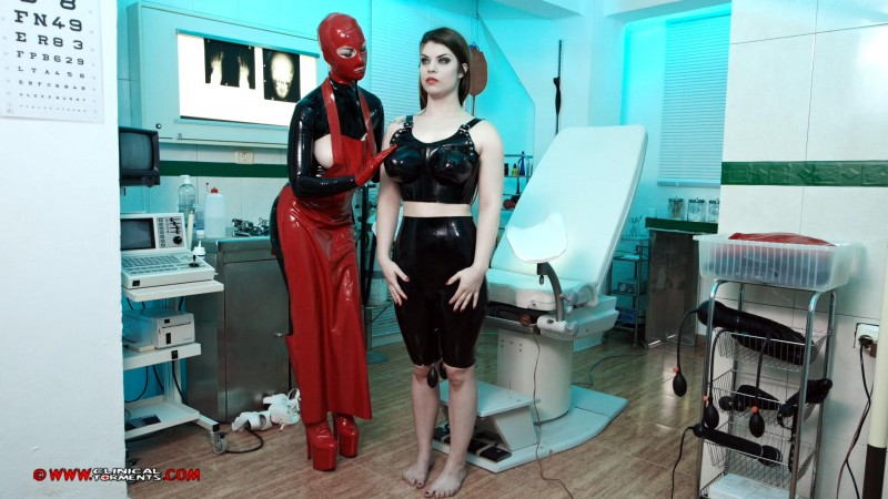 Treatment In Rubber – Miss Trixx And Lucia Love Part Six (Clip 297). Nov 14 2016. Clinicaltorments.com (625 Mb)