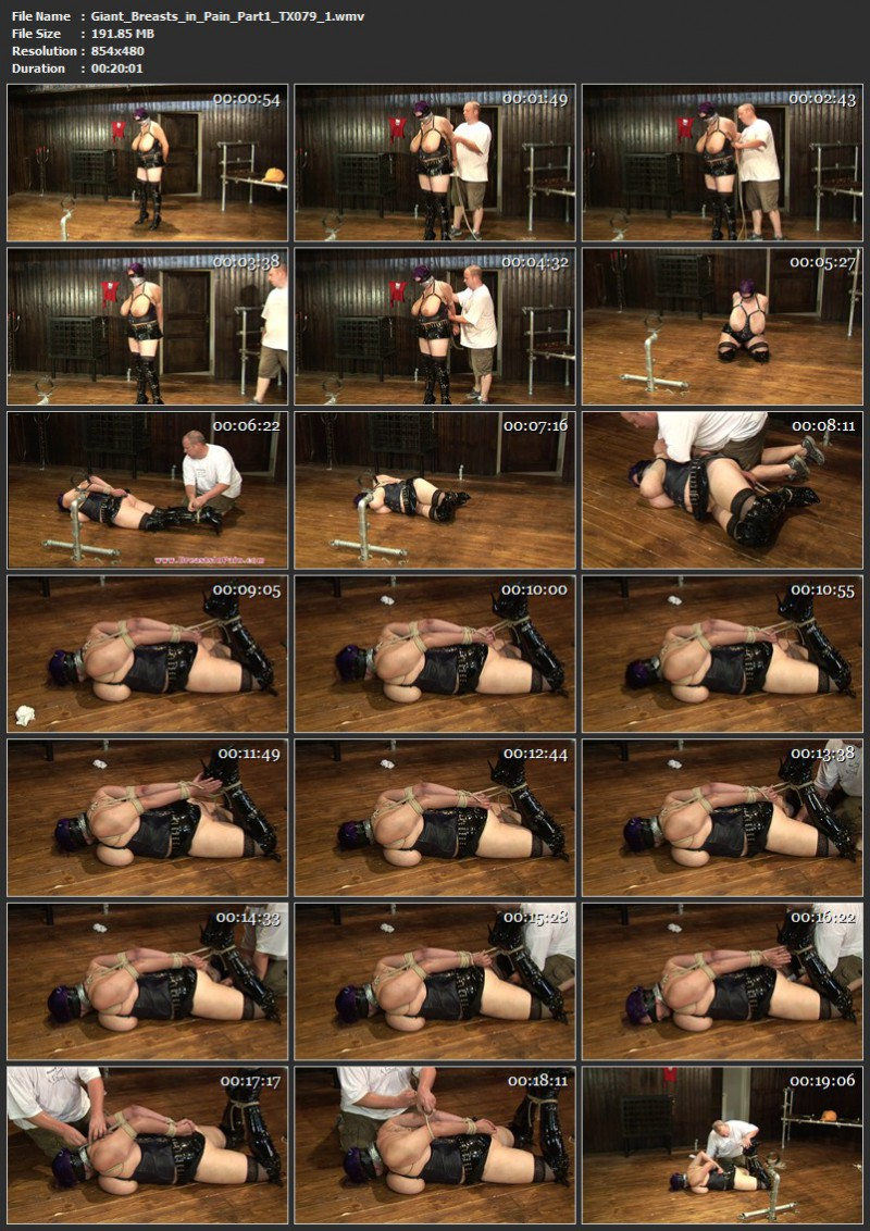 Giant Breasts in Pain Part 1 (TX079). Nov 22 2014. Toaxxx.com (474 Mb)