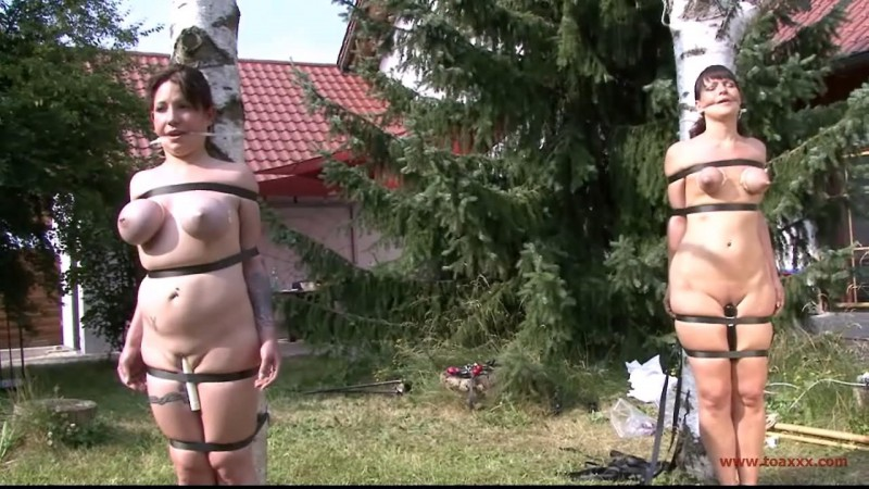 Nadja Nice & Yvette Costeau Outdoor Challenge (TX119). Apr 15 2015. Toaxxx.com (406 Mb)