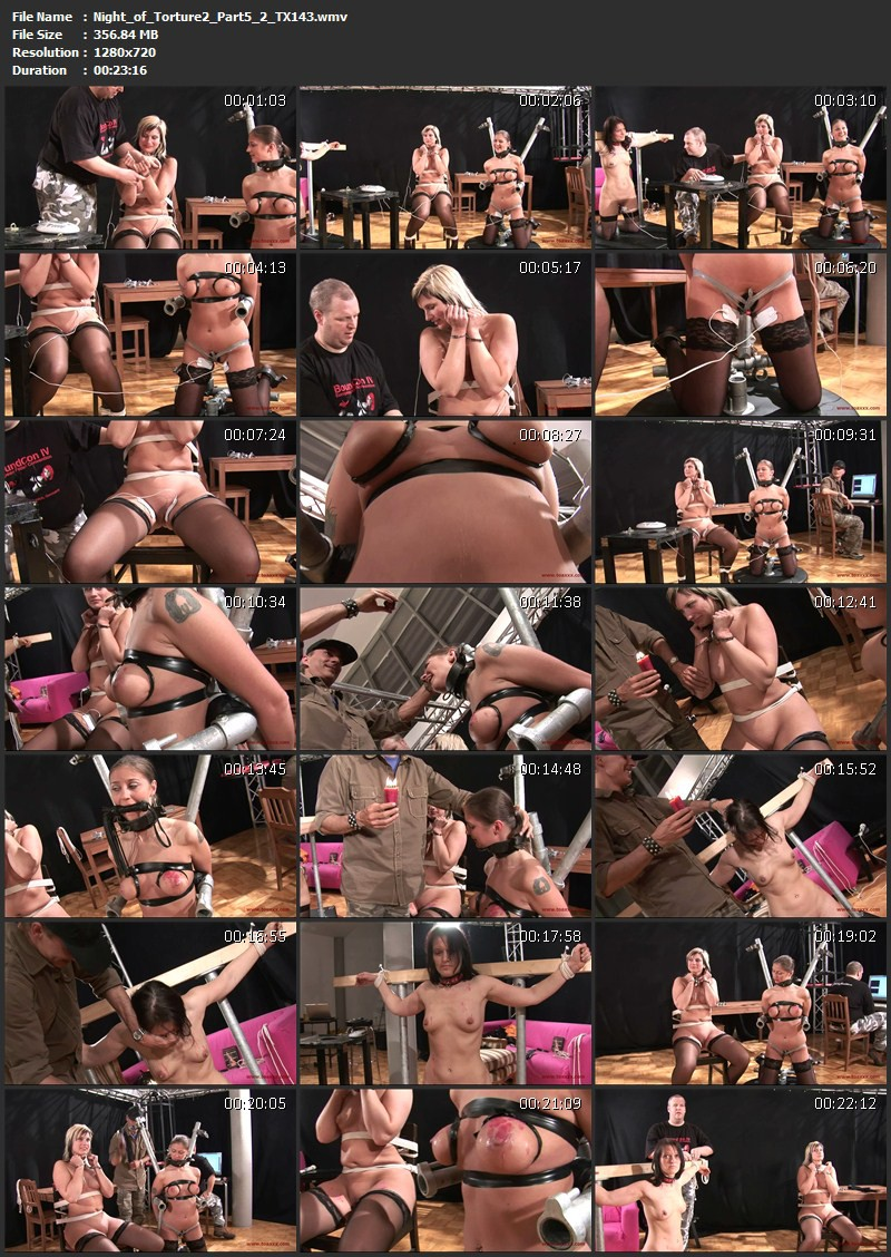 Julia Power, Marina, Yvette Costeau – Night of Torture 2 – Part 5 (TX143). Jul 08 2015. Toaxxx.com (927 Mb)