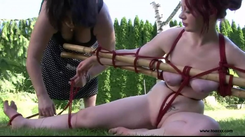 Outdoor Bondage for Alexia Valentine (TX063). Aug 02 2014. Toaxxx.com (457 Mb)