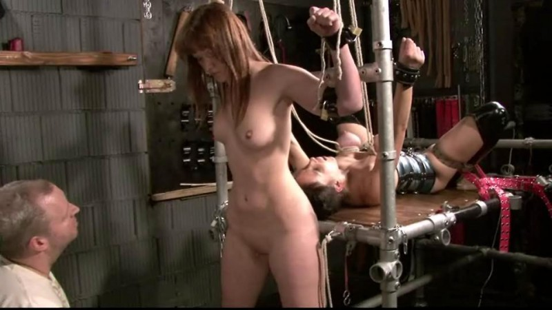 Slave Eva & Yvette at the Dungeon (TX100). Feb 07 2015. Toaxxx.com (283 Mb)