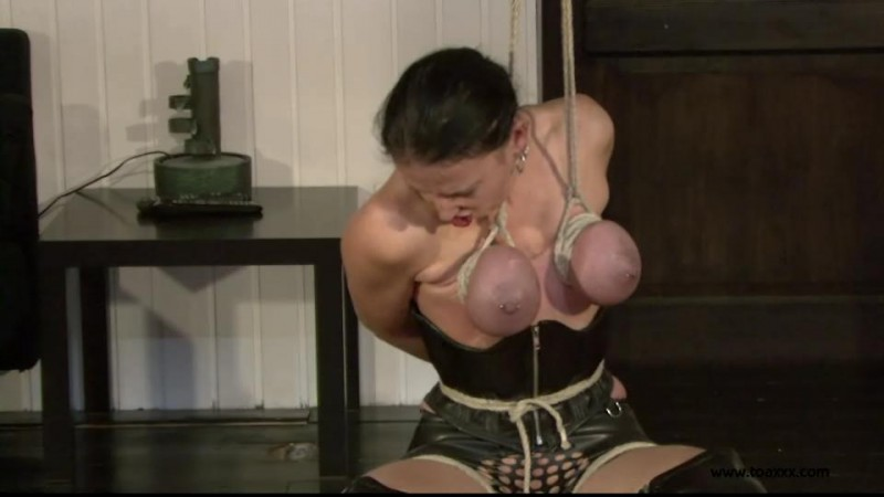 Slave Eva – breast challenge (TX010). Jul 27 2013. Toaxxx.com (199 Mb)