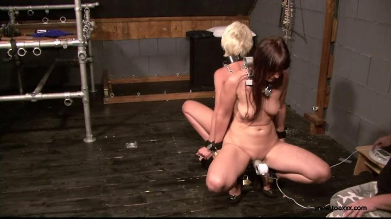 Yvette Costeau & Lena King in the Dungeon (TX089). Dec 31 2014. Toaxxx.com (187 Mb)