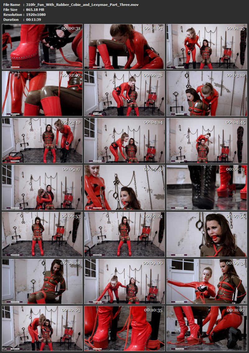 Fun With Rubber – Cobie And Lexymae Part Three. Dec 18 2016. Freaksinside.com (865 Mb)