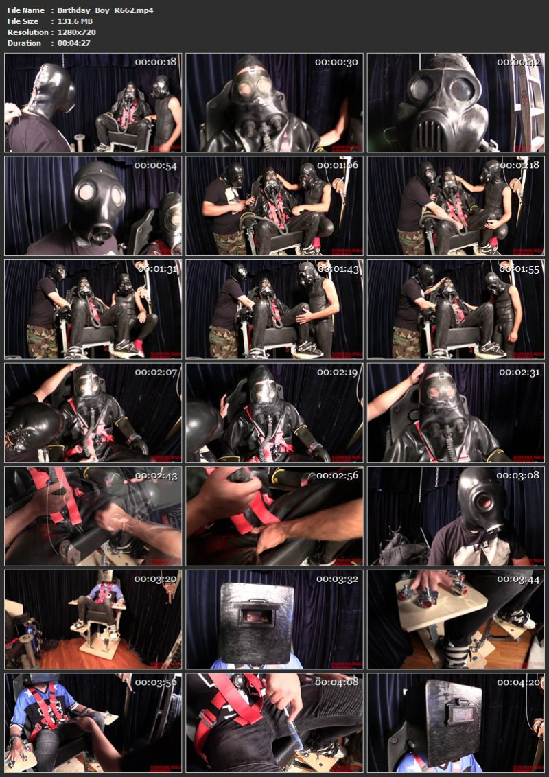 Chains And More Chains – Birthday Boy And Chain 101 (R662). Dec 18 2016. Seriousmalebondage.com (436 Mb)