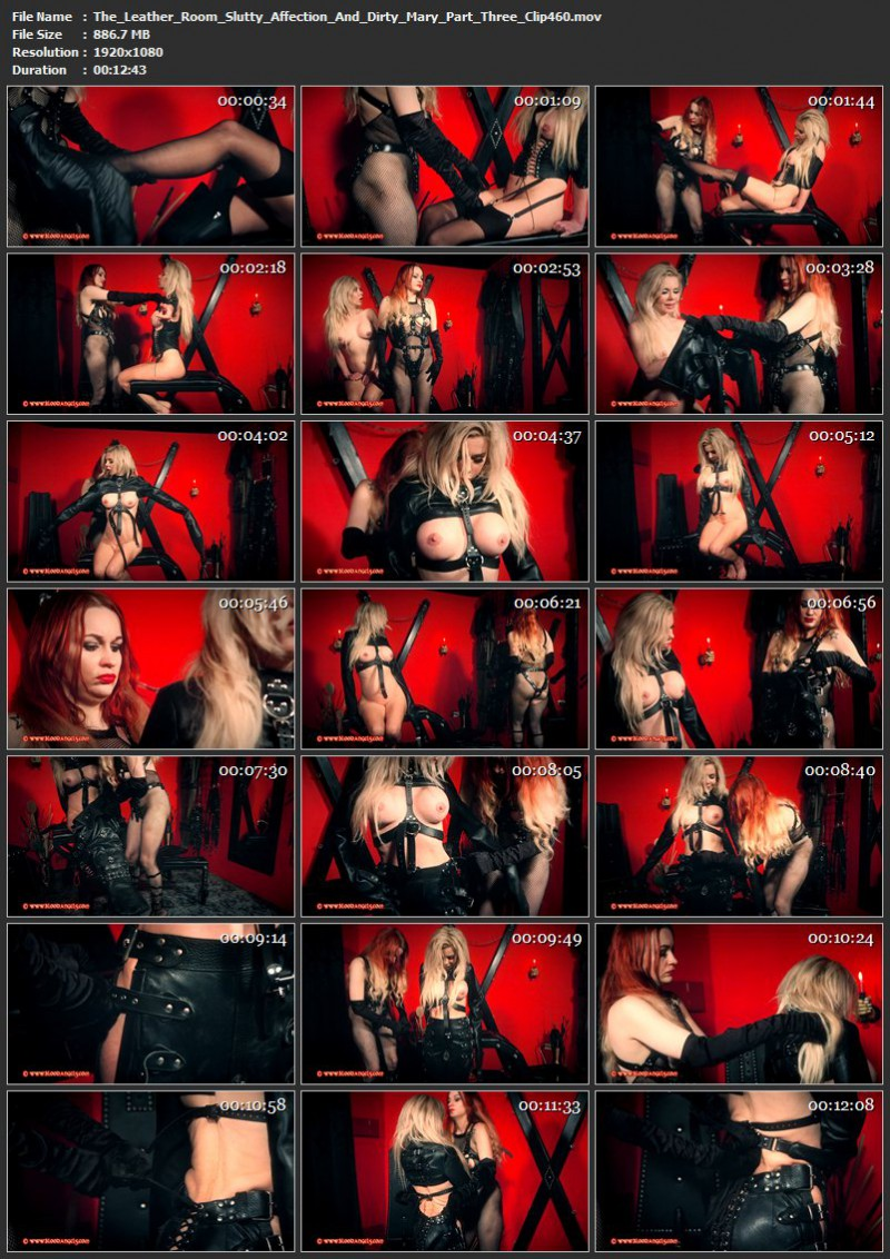 The Leather Room – Slutty Affection And Dirty Mary Part Three (Clip460). Jan 19 2016. Bloodangels.com (886 Mb)
