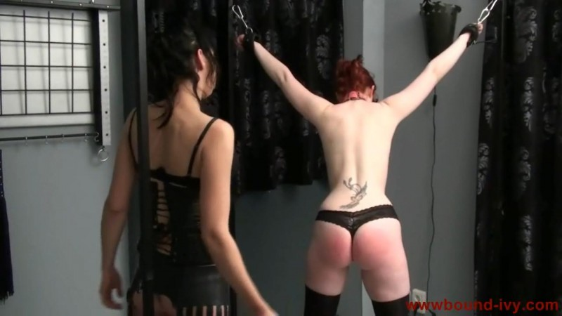 A good spanking (Ivy0190). Bound-ivy.com (99 Mb)