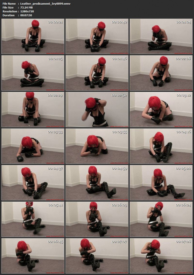 Leather predicament (Ivy0099). May 20 2011. Bound-ivy.com (73 Mb)