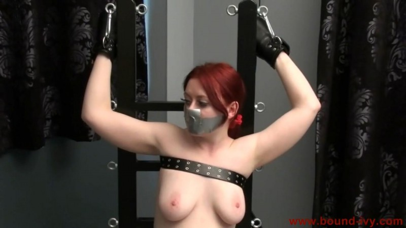 Nose and mouth taped (Ivy0163). Aug 10 2012. Bound-ivy.com (54 Mb)