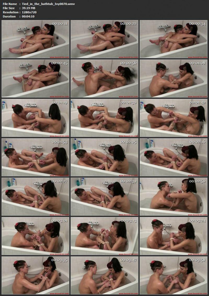 Tied in the bathtub (Ivy0070). Nov 05 2010. Bound-ivy.com (39 Mb)