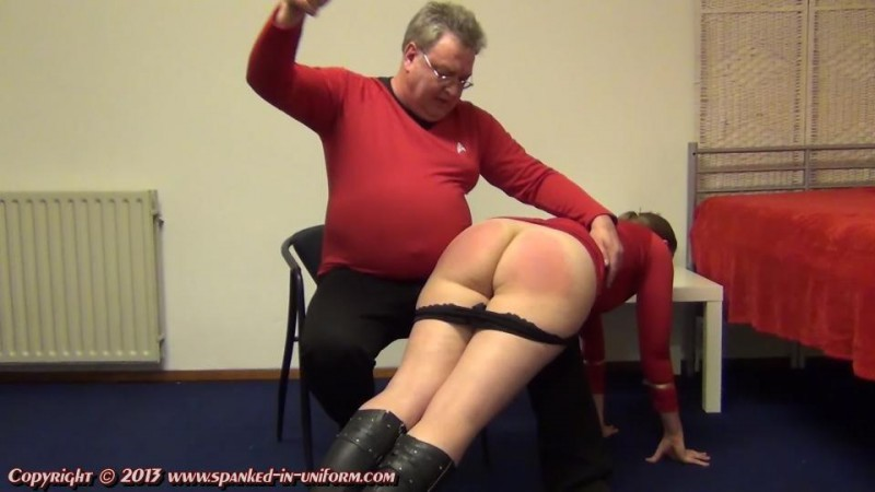 Disciplinary Ship Genesis Episode Five - The Borg. Spanked-in-uniform.com (274 Mb)