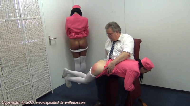 Europe Airlines Episode Thirty Nine - The Flight To Tenerife. Spanked-in-uniform.com (248 Mb)