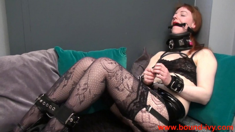 Inflating collar experience (Ivy0366). Bound-ivy.com (396 Mb)