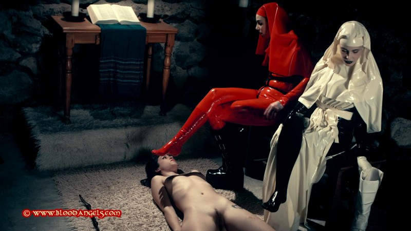 The Sacrament Of Penance - Silvia Rubi, Anneke Necro And Lilyan Red Part Two (Clip 468). Apr 02 2016.