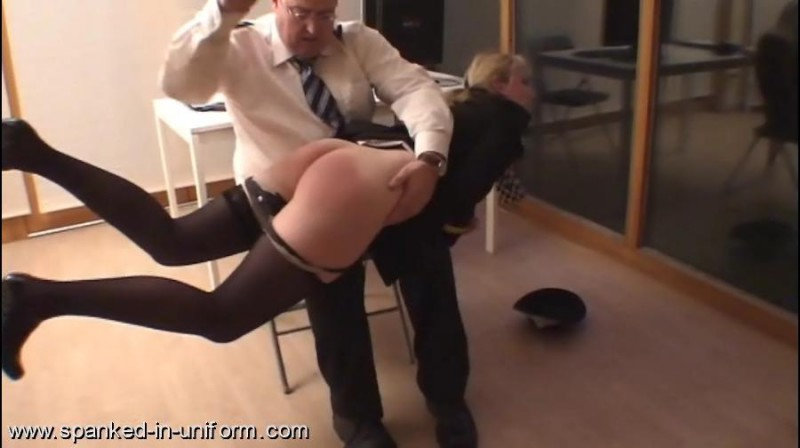 South-West Police Station Episode Four - Caught speeding. Spanked-in-uniform.com (174 Mb)