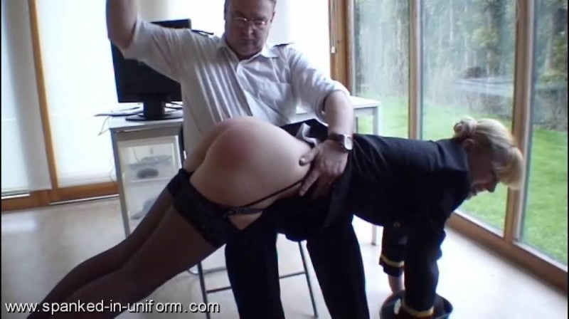 South-West Police Station Episode Seven - The Interrogation. Spanked-in-uniform.com (181 Mb)