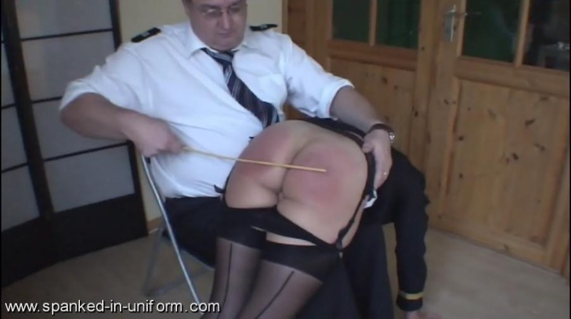 South-West Police Station Episode Six - Rudeness. Spanked-in-uniform.com (174 Mb)