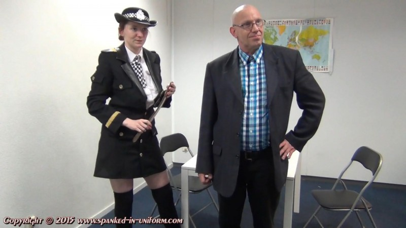 South-West Police Station Episode Twenty Five - Sacha And The Strap. Spanked-in-uniform.com (299 Mb)