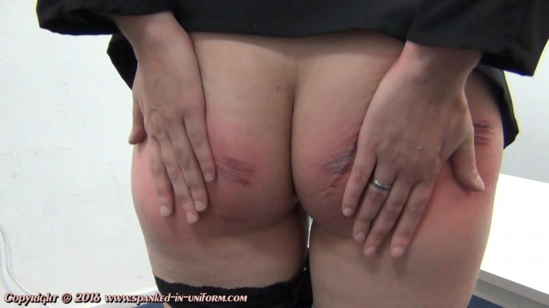 South-West Police Station Episode Twenty Nine - The Stockings Part Two. Spanked-in-uniform.com (124 Mb)