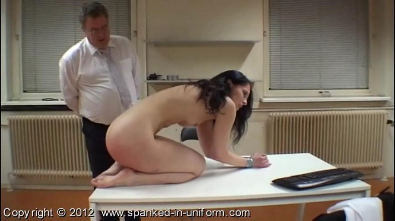 South-West Police Station Episode Twenty - The Handcuffs Part Two. Spanked-in-uniform.com (178 Mb)