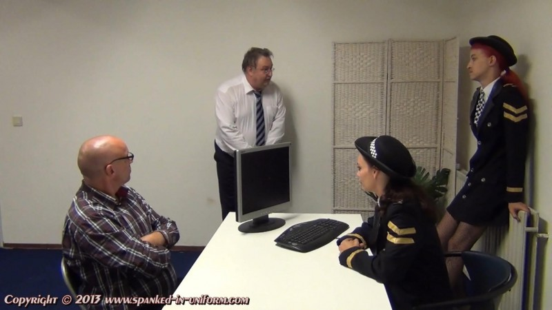 South-West Police Station Episode Twenty Three - Peeing In Public Part One. Spanked-in-uniform.com (321 Mb)
