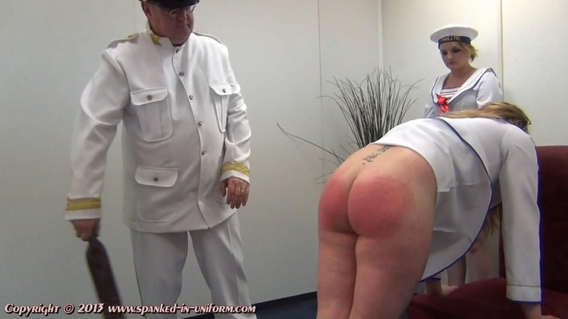 Southport Naval Academy Episode Twelve - The Pantry Part Two. Spanked-in-uniform.com (214 Mb)