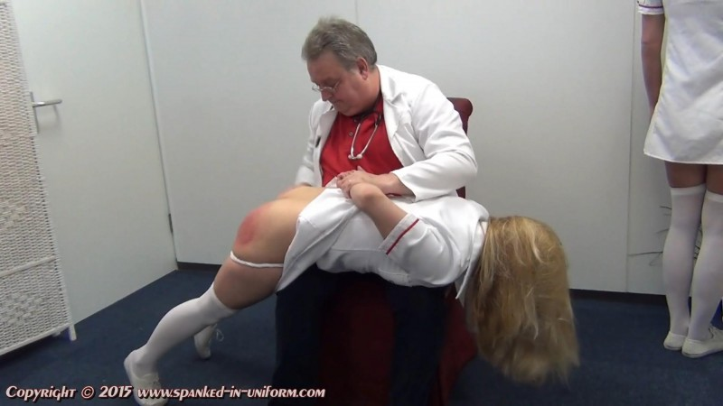 St. Elizabeth Private Hospital Episode Fifty Five - Mandy And Ivey Part One. Spanked-in-uniform.com (213 Mb)