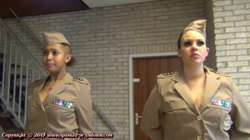 The Montgomery Military Academy Episode  Fifteen - Failed Inspections. Spanked-in-uniform.com (412 Mb)