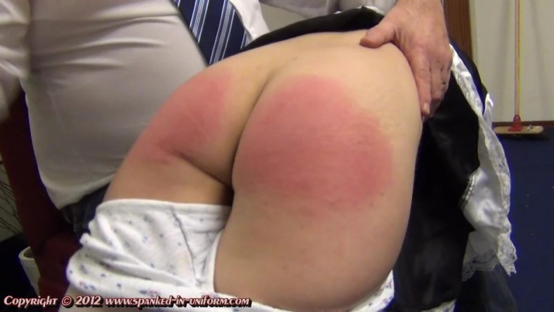 The Whippingsham Secretarial College Episode Eight - Maid Duty. Spanked-in-uniform.com (357 Mb)