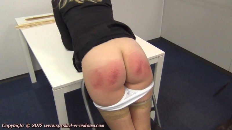 The Whippingsham Secretarial College Episode Fifteen - The Bag Of Weed Part Two. Spanked-in-uniform.com (249 Mb)