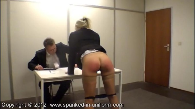 The Whippingsham Secretarial College Episode Two - Dictation. Spanked-in-uniform.com (123 Mb)