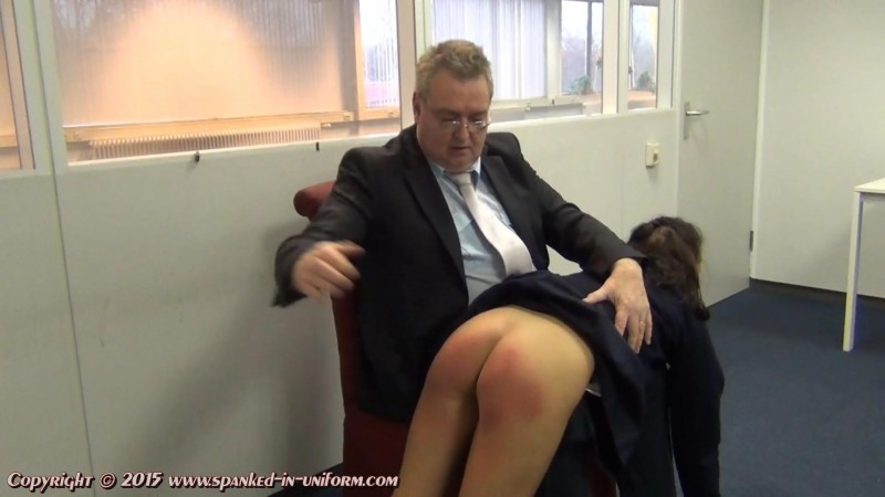 St. Catherines Private School For Girls Episode Eighty Seven - Painfull Lines. Spanked-in-uniform.com (184 Mb)