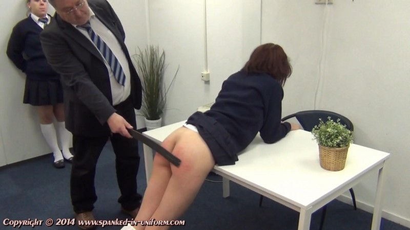 St. Catherines Private School For Girls Episode Seventy Eight - Hiding In The Bathroom Part Two. Spanked-in-uniform.com (203 Mb)